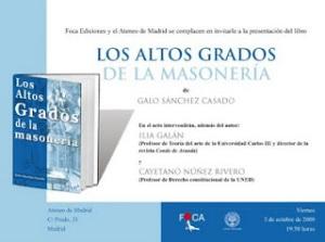 Los Altos Grados de la Masonería  ***  Galo Sánchez Casado 11