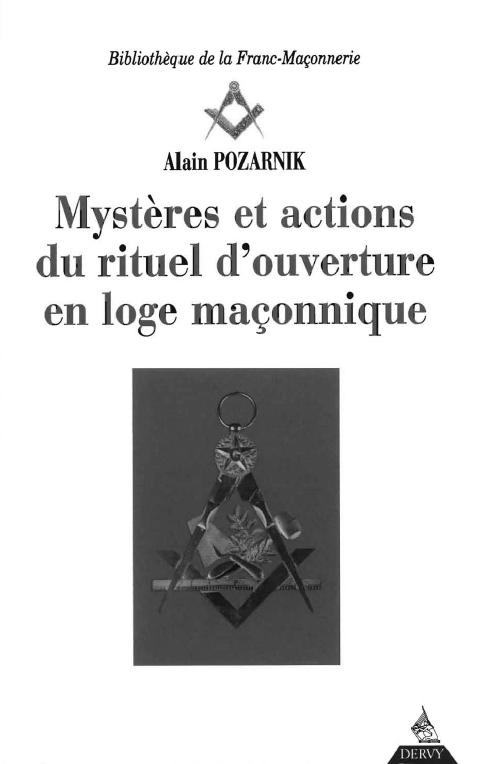 Misterios del Ritual Masónico  ***  Alain Pozarnik Alain-pozarnik-misterios-del-ritual-masc3b3nico